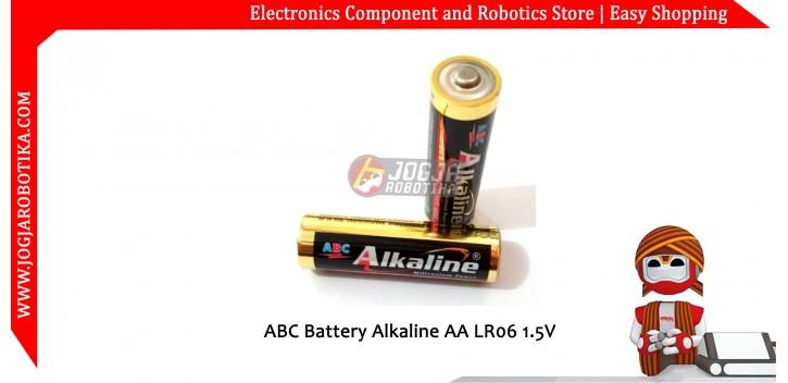 ABC Battery Alkaline AA LR06 1.5V