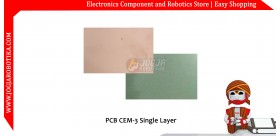 10cm x 20 cm PCB CEM-3 Single Layer