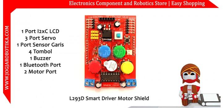L293D Smart Driver Motor Shield