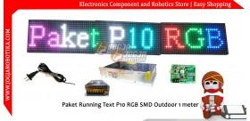 Paket P10 RGB SMD Outdoor 96x16
