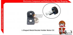 25mm DC Geared Motor Mounting Bracket Holder