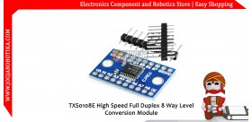 TXS0108E High Speed Full Duplex 8 Way Level Conversion Module