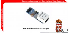 ENC28J60 Ethernet Module 10 pin