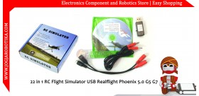 22 in 1 RC Flight Simulator USB Realflight Phoenix 5.0 G5 G7