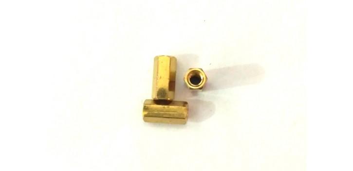 Spacer Kuningan 10mm Female to Female