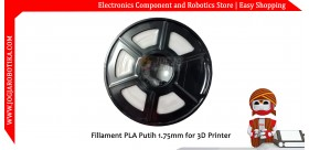 Fillament PLA Putih 1.75mm for 3D Printer
