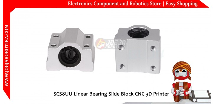 SCS8UU Linear Bearing Slide Block CNC 3D Printer