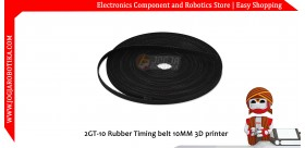 2GT-10 Rubber Timing belt 10MM 3D printer