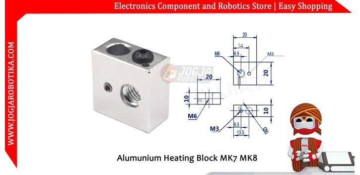Alumunium Heating Block MK7 MK8