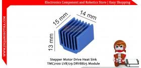 Stepper Motor Drive Heat Sink TMC2100 LV8729 DRV8825 Module