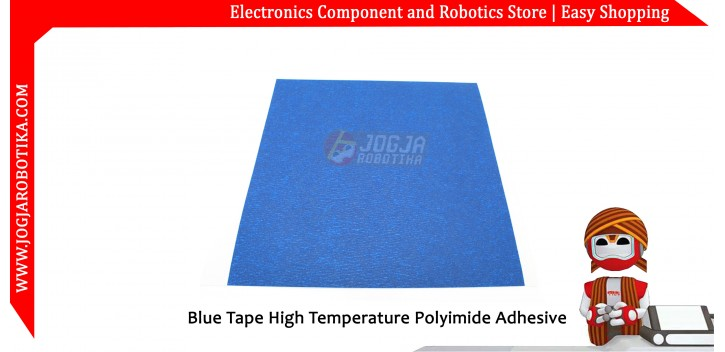 Blue Tape High Temperature Polyimide Adhesive