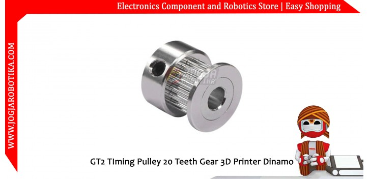 GT2 TIming Pulley 20 Teeth Gear 3D Printer Dinamo