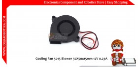 Cooling Fan 5015 Blower 50X50x15mm 12V 0.23A