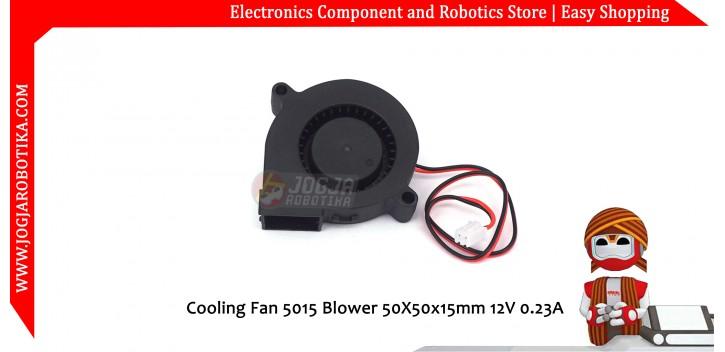 Cooling Fan 5015 Blower 50X50x15mm 12V 0.23A