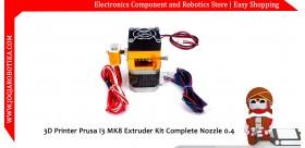 3D Printer Prusa I3 MK8 Extruder Kit Complete Nozzle 0.4
