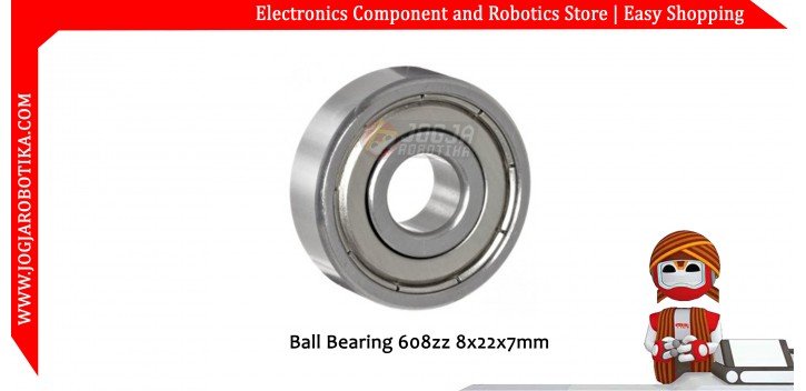 Ball Bearing 608zz 8x22x7mm