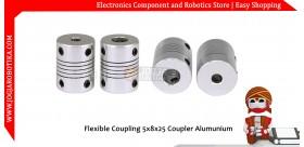 Flexible Coupling 5x8x25 Coupler Alumunium