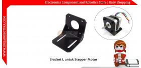 Bracket L untuk Motor Stepper