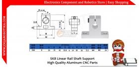SK8 Linear Rail Shaft Support High Quality Aluminum CNC Parts