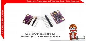 GY-91 MPU9250 BMP280 10DOF Accelero Gyro Compass Altimeter Altitude