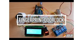 FINGERPRINT DOORLOCK (KUNCI PINTU FINGERPRINT)