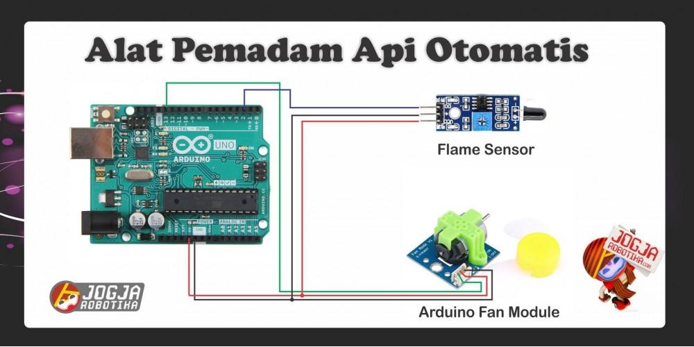 PEMADAM API OTOMATIS (FLAME SENSOR) - Toko Komponen