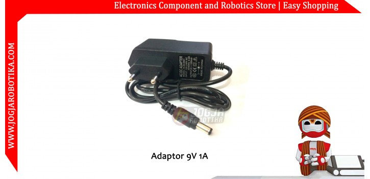 Adaptor 9V 1A