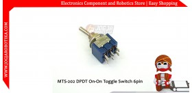 MTS-202 DPDT On-On Toggle Switch 6pin