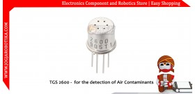 TGS 2600 - for the detection of Air Contaminants
