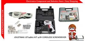 JOUSTMAX JST24802 KIT 4.8V CORDLESS SCREWDRIVER
