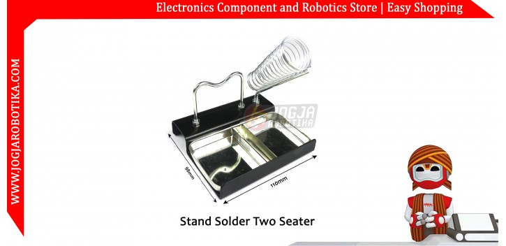 Stand Solder Two Seater