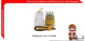 Obeng Set 32 in 1 TE-6036