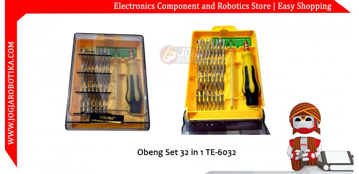 Obeng Set 32 in 1 TE-6032