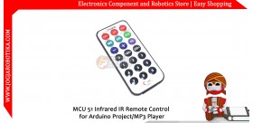 MCU 51 Infrared IR Remote Control for Arduino Project/MP3 Player