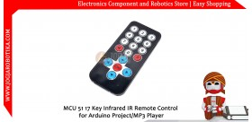 MCU 51 17 Key Infrared IR Remote Control for Arduino Project/MP3 Player