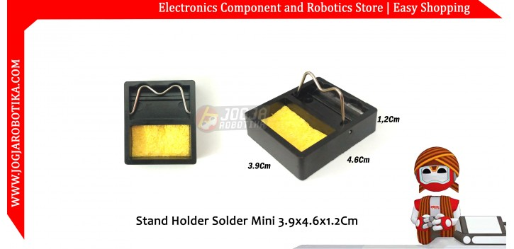Stand Holder Solder Mini 3.9x4.6x1.2Cm