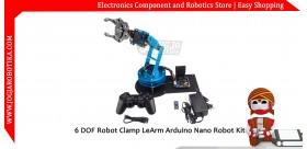 6 DOF Robot Clamp LeArm Arduino Nano Robot Kit