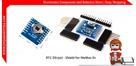 RTC DS1307 - Shield for WeMos D1