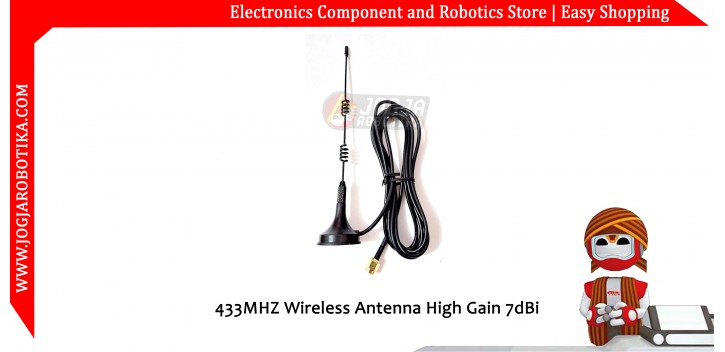 433MHZ Wireless Antenna High Gain 7dBi