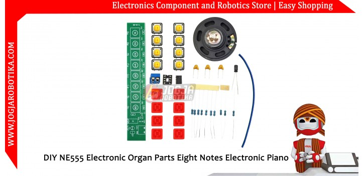 DIY NE555 Electronic Organ Parts Eight Notes Electronic Piano