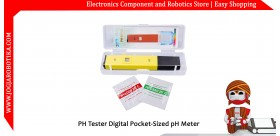 PH Tester Digital Pocket-Sized pH Meter