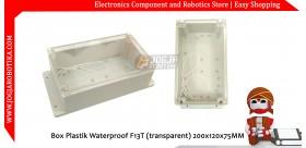 Box Plastik Waterproof F13T (transparent) 200x120x75MM