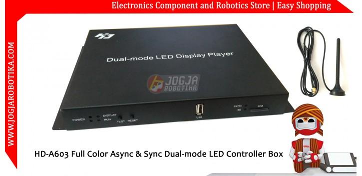 HD-A603 WIFI Full Color Async & Sync Dual-mode LED Controller Box