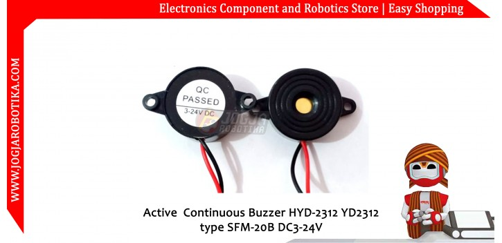 Active Continuous Buzzer HYD-2312 YD2312 type SFM-20B DC3-24V