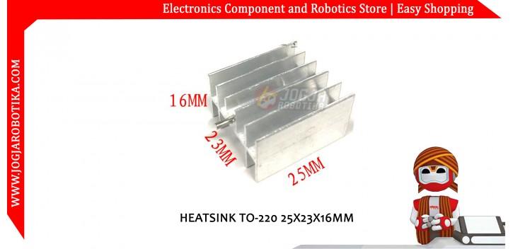 HEATSINK TO-220 25X23X16MM
