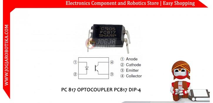 PC 817 OPTOCOUPLER PC817 DIP-4