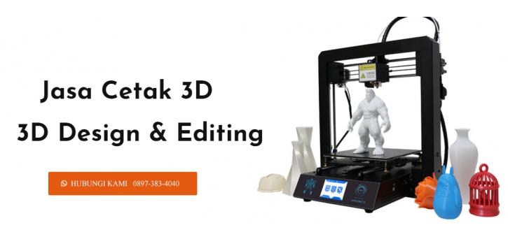 Jasa Cetak 3D print Jogja