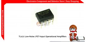 TL072 Low-Noise JFET-Input Operational Amplifiers