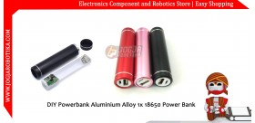 DIY Powerbank Aluminium Alloy 1x 18650 Power Bank