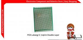PCB Lubang IC 7x9Cm Double Layer